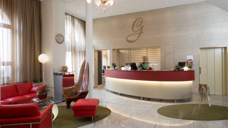 GAIA Hotel reception
