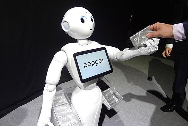 Pepper-the-robot