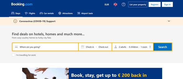 booking hotel site