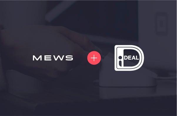 iDeal nu beschikbaar bij Mews navigation image