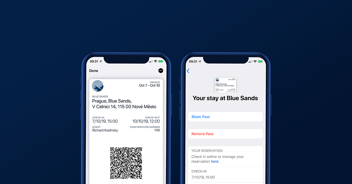 Introducing Apple Wallet Check-ins
