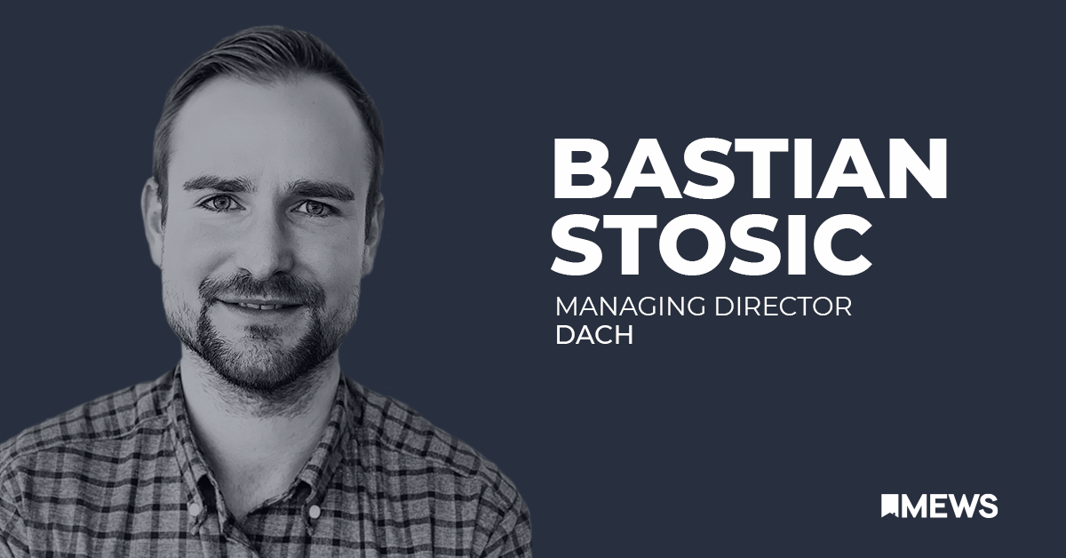 People of Mews: Introducing Bastian Stošić, MD of the DACH region