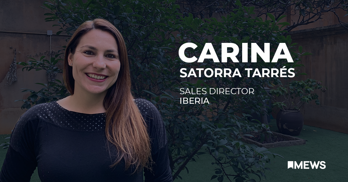 People of Mews: Introducing Carina Satorra Tarrés, Sales Director for Spain and Portugal