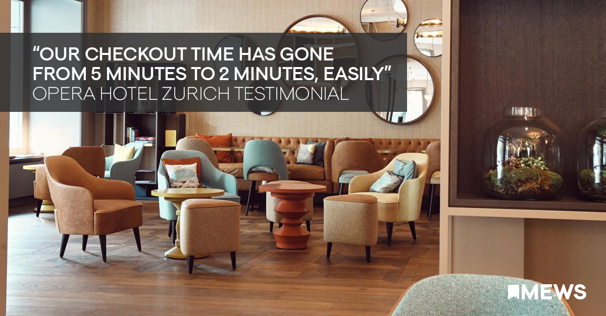 """Our checkout time has gone from 5 minutes to 2 minutes, easily"" 