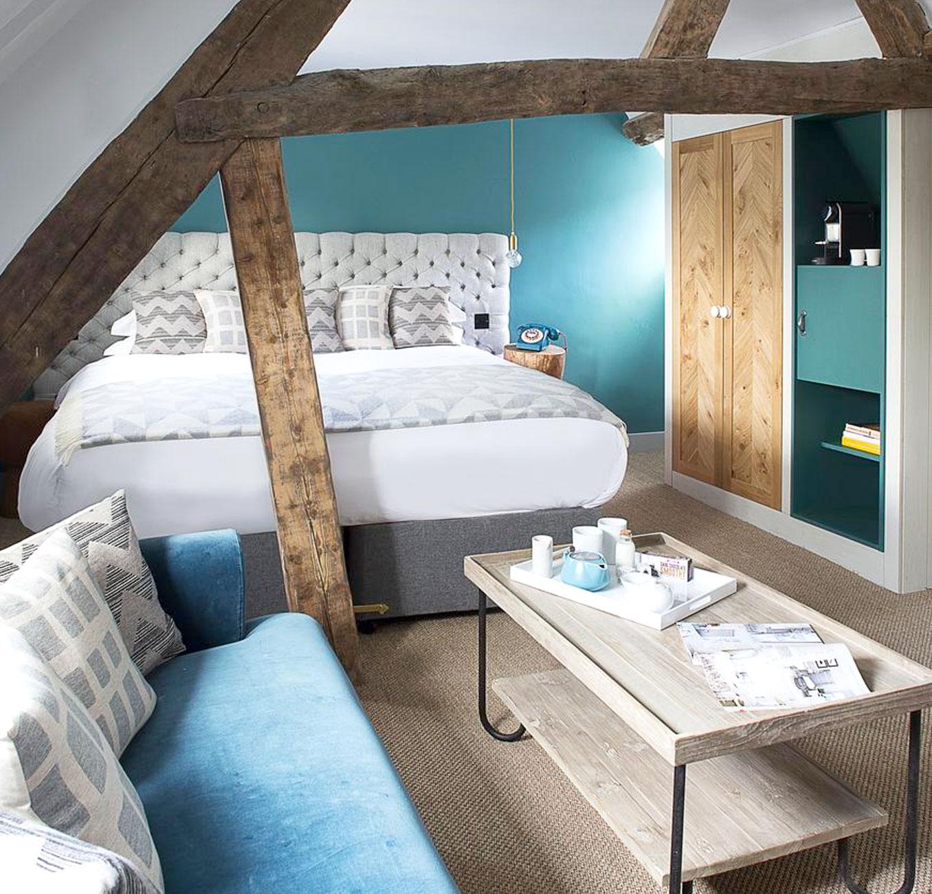 Old-Stock-Inn Hotel Room